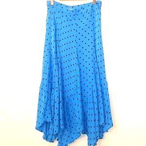 H&M Polka Dotted Midi/Maxi Skirt